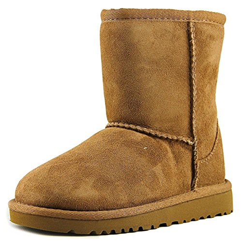 UGG Australia Children's Classic Toddler Suede Boots,Chestnut,12 Child US (Kids Size 12 Ugg)