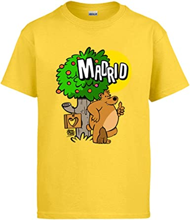 Diver Bebé Camiseta Madrid Oso y madroño españa: Amazon.es: Ropa y ...