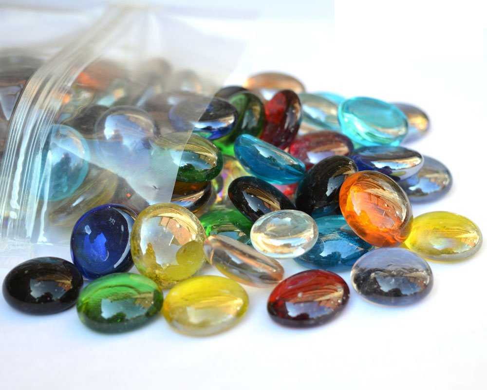 1kg pack of round decorative glass pebbles stones beads 1kg pack of round decorative glass pebbles stones beads nuggets gems mosaic tiles mixed colour amazon kitchen home reviewsmspy