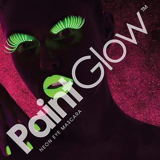 Amazon.com: PaintGlow Eye Mascara Neon Colours UV Light ...