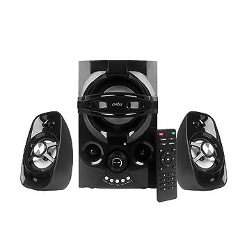 Artis Ms406 2 1 Ch Wireless Multimedia Speaker System With Fm Sd Aux