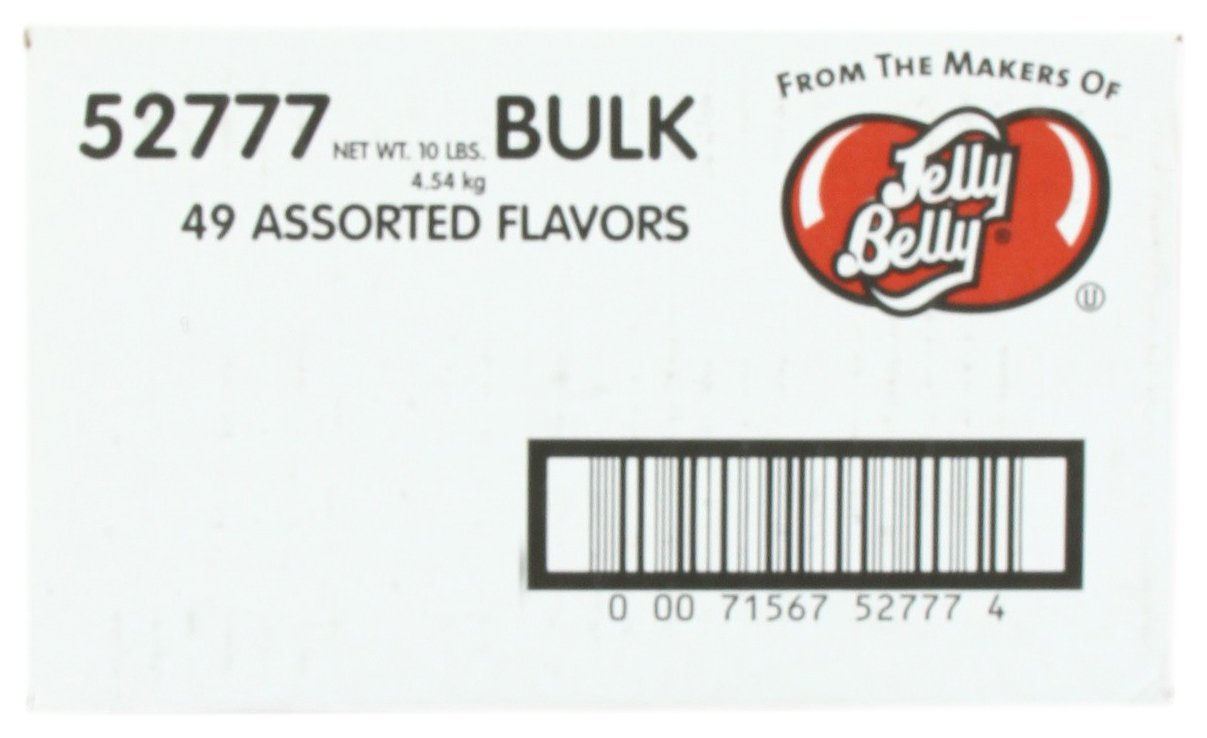 Jelly Belly Jelly Beans, 49 Assorted Flavors, 10-Pound Box by Jelly Belly