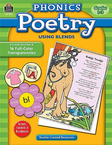 Amazon.com: Phonics Poetry Using Blends (0088231989776): Penny ...