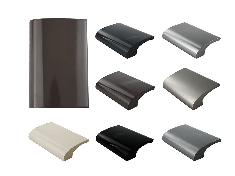 MS herrajes Balc/ón Asa zieh Terraza Puerta Mango Deluxe/ /Varios colores marr/ón//–/ral 8019 /Aluminio/