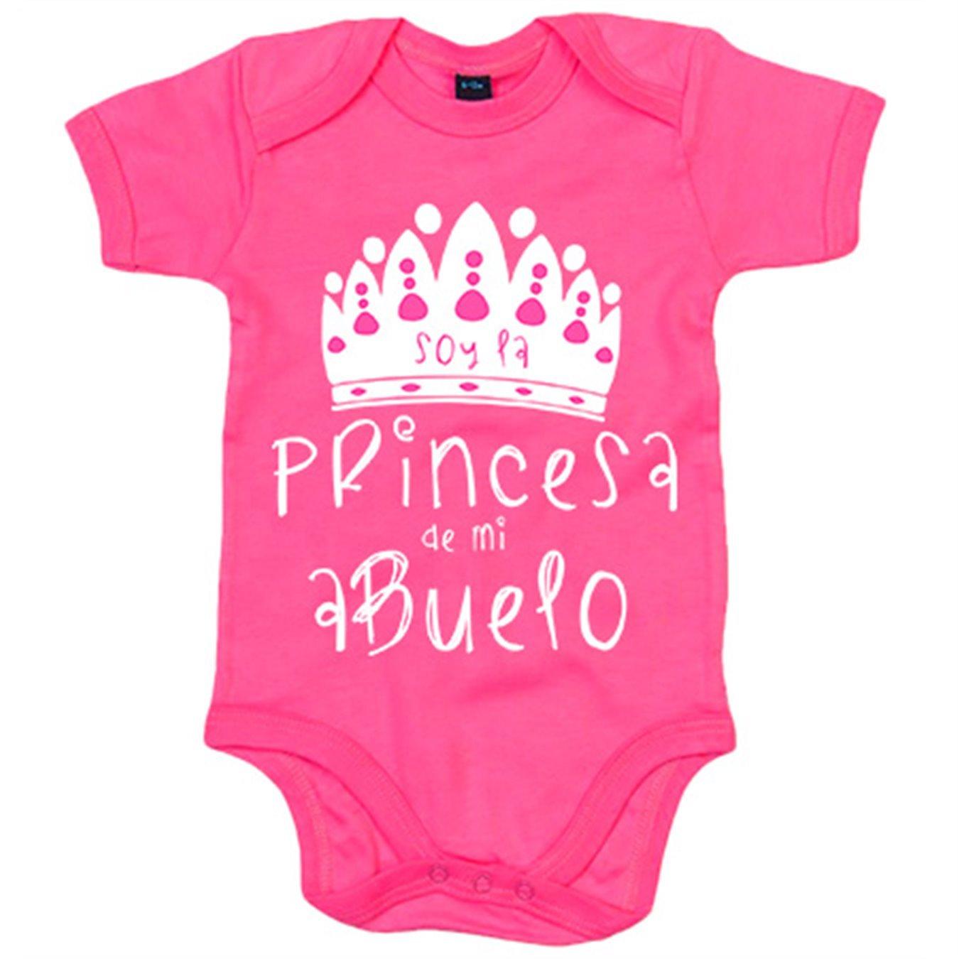 Body bebé Soy la princesa de mi abuelo - Blanco, 6-12 meses ...