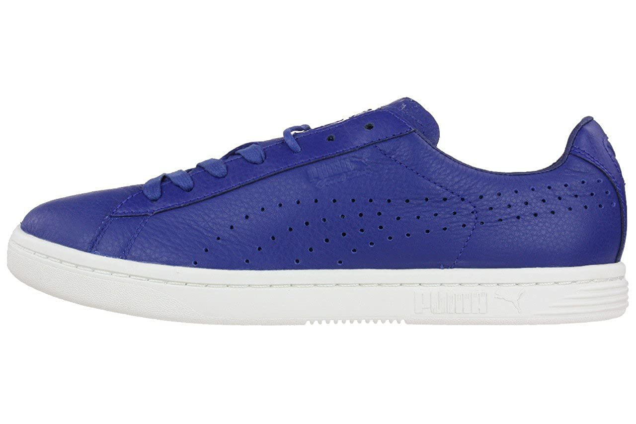 Puma Court Star Herren Sneaker Schuhe Leder blau leather