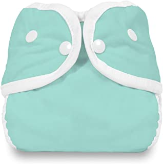 product image for Thirsties Snap Diaper Cover, Aqua, Large