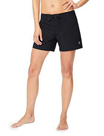 """eb7dc425ad Baleaf Women's 5"""" Board Short with Built-in Liner (Back Elastic  Waistband)"""