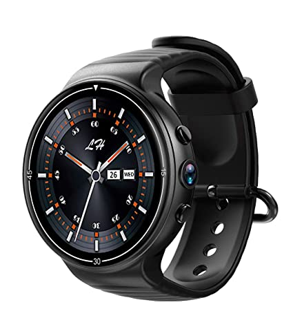 Amazon.com: Smart Watch I8 4G with Camera Heart Rate Monitor ...