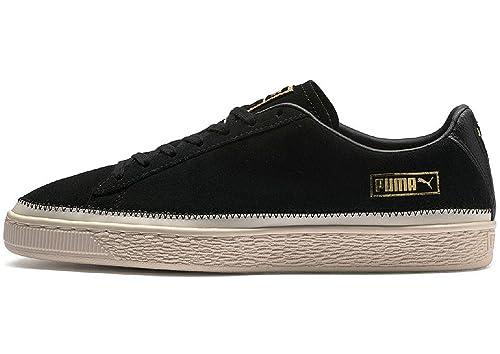 Puma Suede Trim Schuhe schwarz