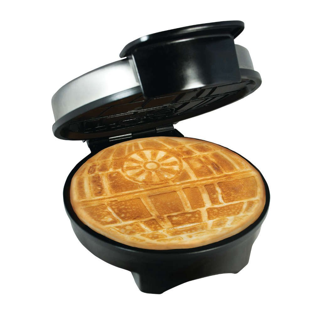 Exclusive Star Wars Death Star Waffle Maker - Officially Licensed Waffle Iron PANGEA BRANDS