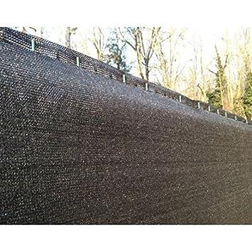 Brise Vue Noir 170gr/m² LONODIS V2, Anti-UV -Hauteur 1m50 Rouleau de ...