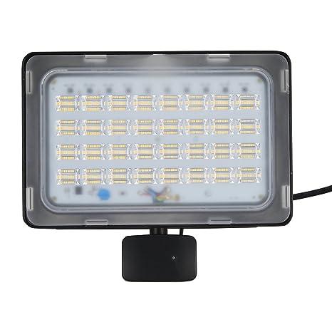 Viugreum Reflector Proyector de Iluminación al Aire Libre Reflector LED Focos con Sensor de Movimiento