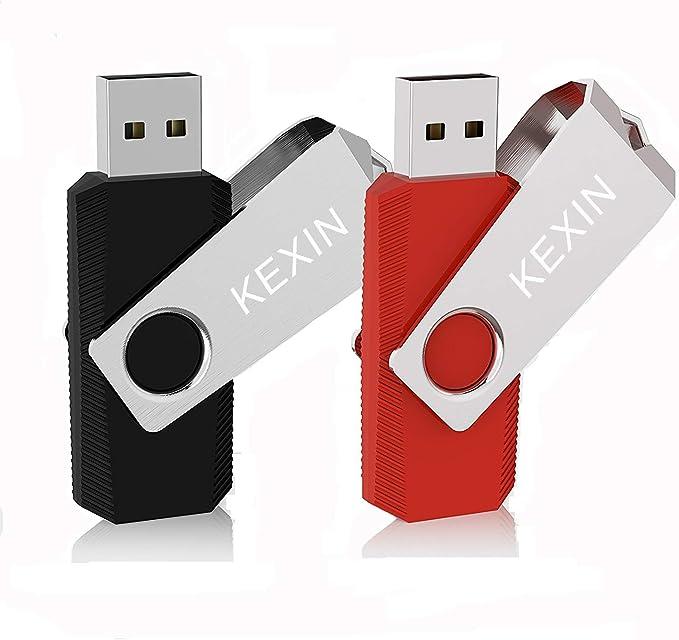 59 opinioni per KEXIN Chiavetta USB 32 GB 2 Pezzi Pendrive USB 2.0 ad alta velocità Memoria