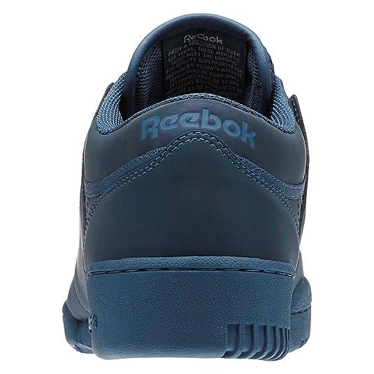 e4189d894caaa1 Reebok Shoes - Workout Lo Clean PRS Blue Multicolor White Size  44.5   Amazon.co.uk  Shoes   Bags