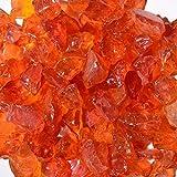 Chunky Orange Terrazzo Glass - American Specialty Glass – Flooring, Countertop, Concrete, Terrazzo Glass - 10 LB, Size 3 offers