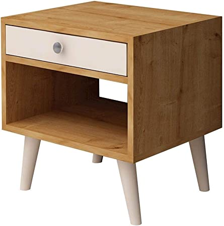 Home Mania Table De Chevet Design Fenola L 45 X H 50 Cm