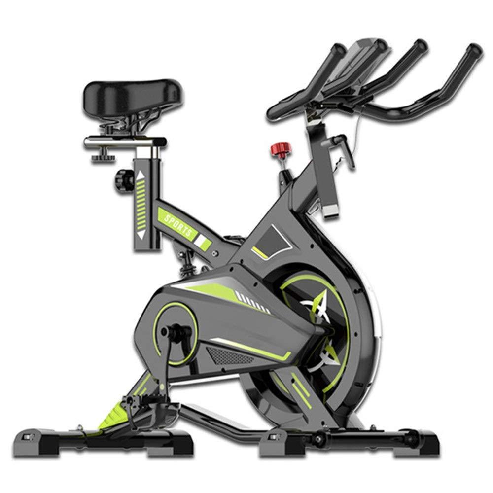 フィットネスバイク フィットネスカーディオ減量ワークアウトマシンでミュートトレーニングコンピュータと楕円クロストレーナー スポーツ用品 (色 : 緑, サイズ : Free Size) Free Size 緑 B07R9X46XQ