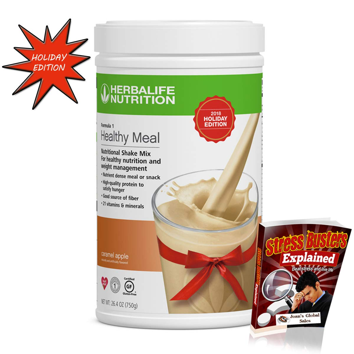 Amazon.com : Lose Weight Healthy Meal Formula 1 Nutritional Shake Mix Caramel Apple 750 g Limited Edition : Grocery & Gourmet Food