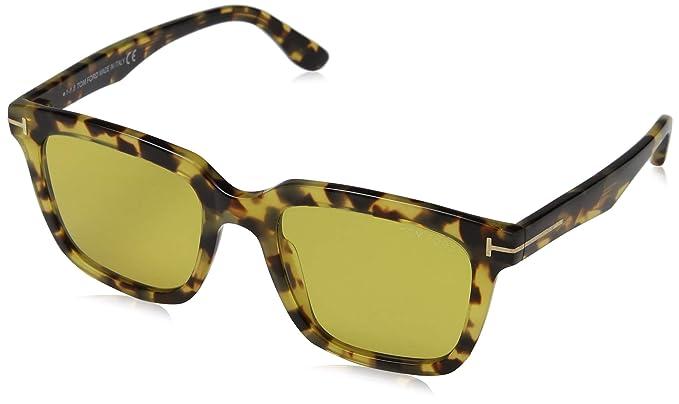 80eab2bff3 Tom Ford FT0646 56E 53 Montures de lunettes, Marron (Avana), Mixte Adulte