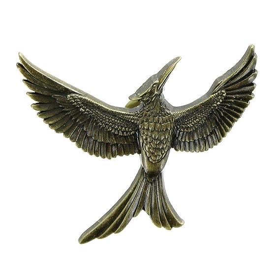e5efbc45e05 Amazon.com  Hunger Games The Mockingjay - Part 2 Gold Mockingjay PIN ...