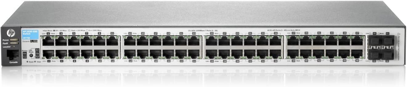HPE Networking BTO J9775A#ABA 2530-48G Switch