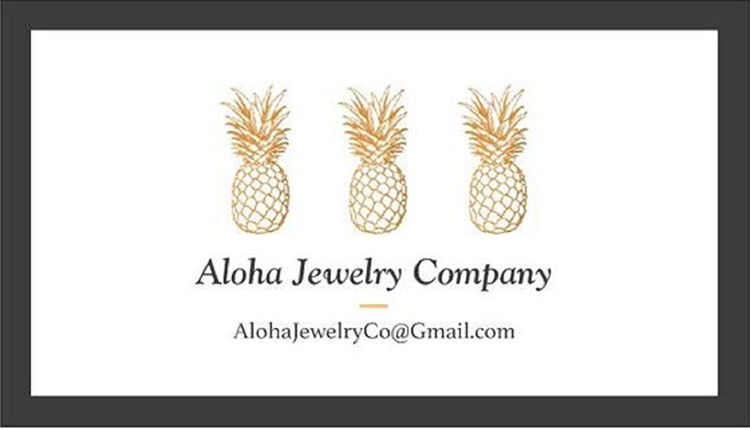 Aloha Jewelry Company Sterling Silver Koa Wood Whale Tail Necklace Pendant with 18 Box Chain L