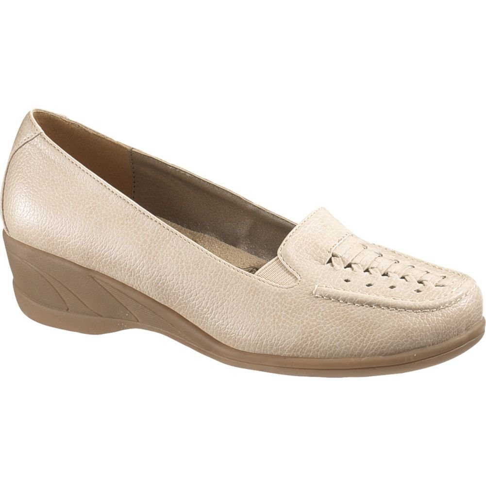 Soft Style Women's Haylee Wedge Loafers B007BX18L4 6 B(M) US|Bone Vitello
