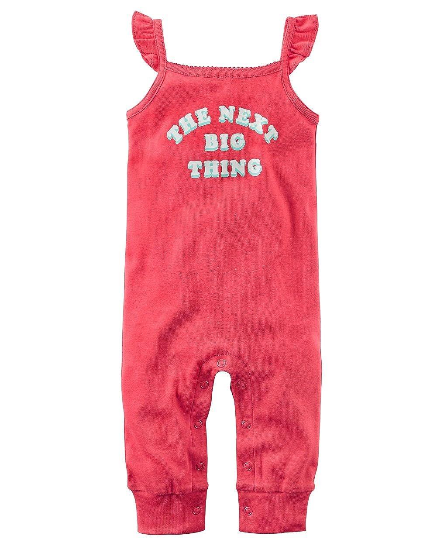 6m Carters Girls Dark Pink Next Big Thing Jumpsuit