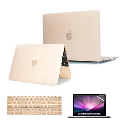online retailer 66b67 98cc8 Se7enline MacBook 12 inch Case 2015-2018 Laptop Hard Shell Protective Cover  Case for MacBook 12-Inch Model A1534 with Retina Display, Silicone ...