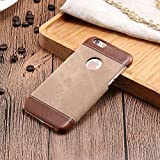 Excelsior Premium Leather Back Cover Case For Apple iPhone 8 (Brown)