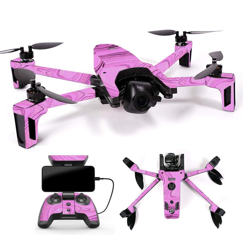 【ポイント10倍】 MightySkins スキンデカール ラップ Parrot & Anafi Drone用 Marble ステッカー Coverage, 抽象画 木製, Full Drone & Controller Coverage, PAANA-Island Fish B07H7SJXL5 Full Drone & Controller Coverage Pink Thai Marble Pink Thai Marble Full Drone & Controller Coverage, 中部特機産業:294ea33c --- rsctarapur.com