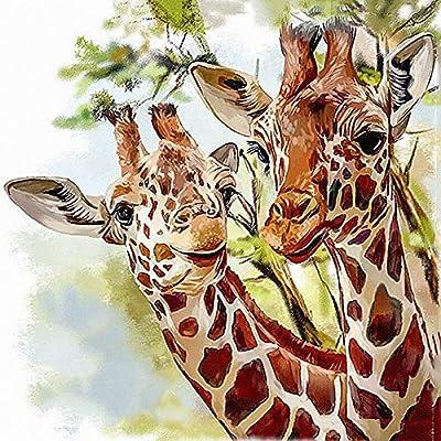 Cartoon Giraffe5D Diamond DIY Embroidery Painting Cross Stitch Craft DecorHuG