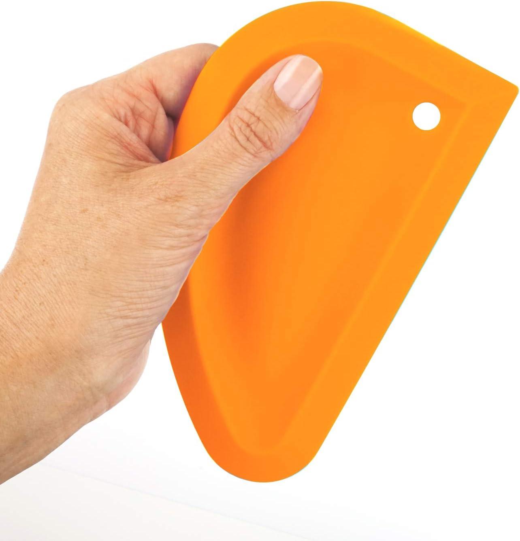 Spachtel Teigschaber Teigspachtel Collory Silikon Schaber Teigkarte Sch/üsselschaber Flexibel und antihaftbeschichtet