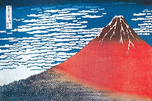 Mount Fuji by Katsushika Hokusai Art Print Poster 36x24