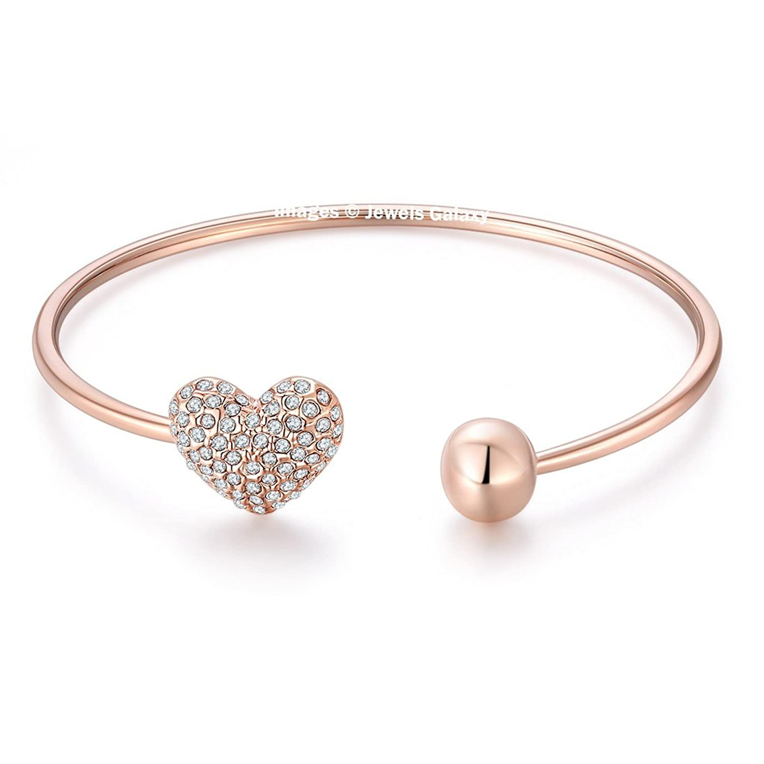 bangles small bracelet yellow rose gold silver set diameter plated fortune en amp love type bangle three cm and