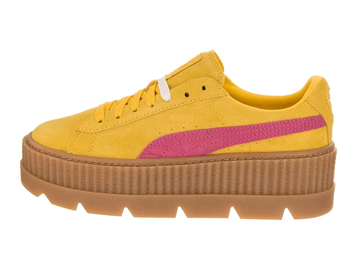 4fe5b80e31a Amazon.com | PUMA Womens Fenty by Rihanna Suede Cleated Creeper Athletic &  Sneakers | Shoes