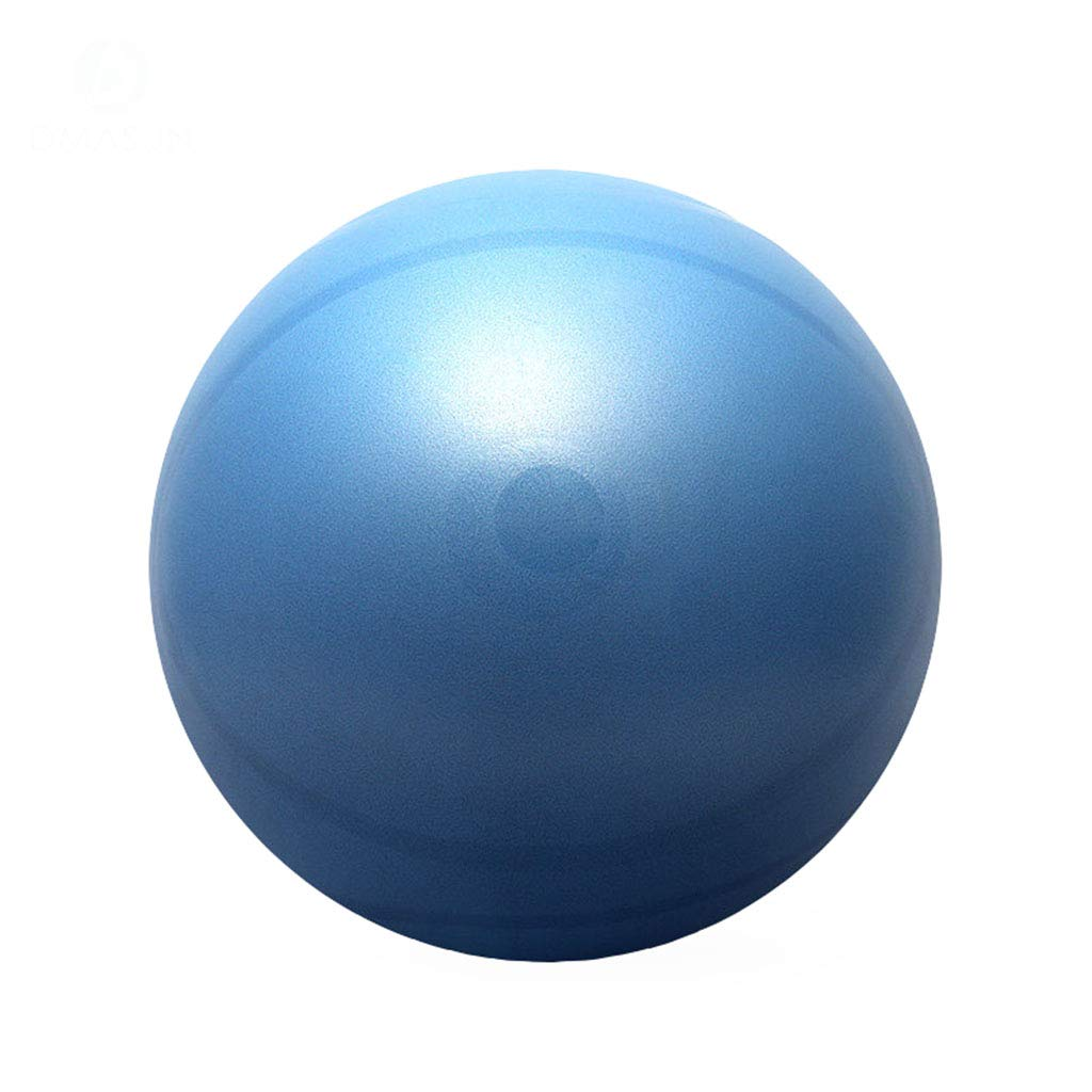 YxlAB Yoga-Ball, Gewichtsverlust Fitness Pilates Ball explosionssichere Balance Übung schwangeren Frauen Sport Ball (Farbe : Blau, größe : 75CM)