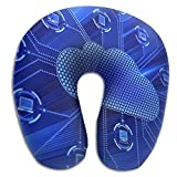 U Shaped Travel Pillow Technology Cloud Network Memory Foam Soft Neck Portable Pillow For Flight Train Car And Office Naps Bed Pillows