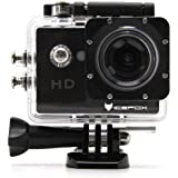 icefox Action Cam, Unterwasser 30M Sport Action Kamera, 1080P HD Aufnahme für Tauchen, Motorrad, Surfen, Bootfahren und Skifahren