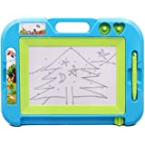 Magnetic Drawing Board Educational Toys - Hanmun HS215A Toddler Dry Erase Writing Board Toys Doodle Sketch Learning Toys for Kids