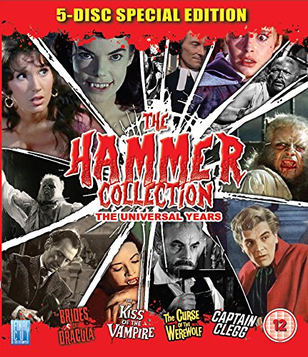 The Hammer Blu Ray Collection [4xBlu-Ray] (No English version) (Hammer Horror Blu Ray Collection)