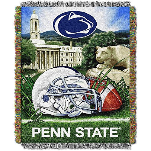 The Northwest Company Penn State Nittany Lions Home Field Advantage Woven Tapestry - Tapestry Lions Nittany Throw