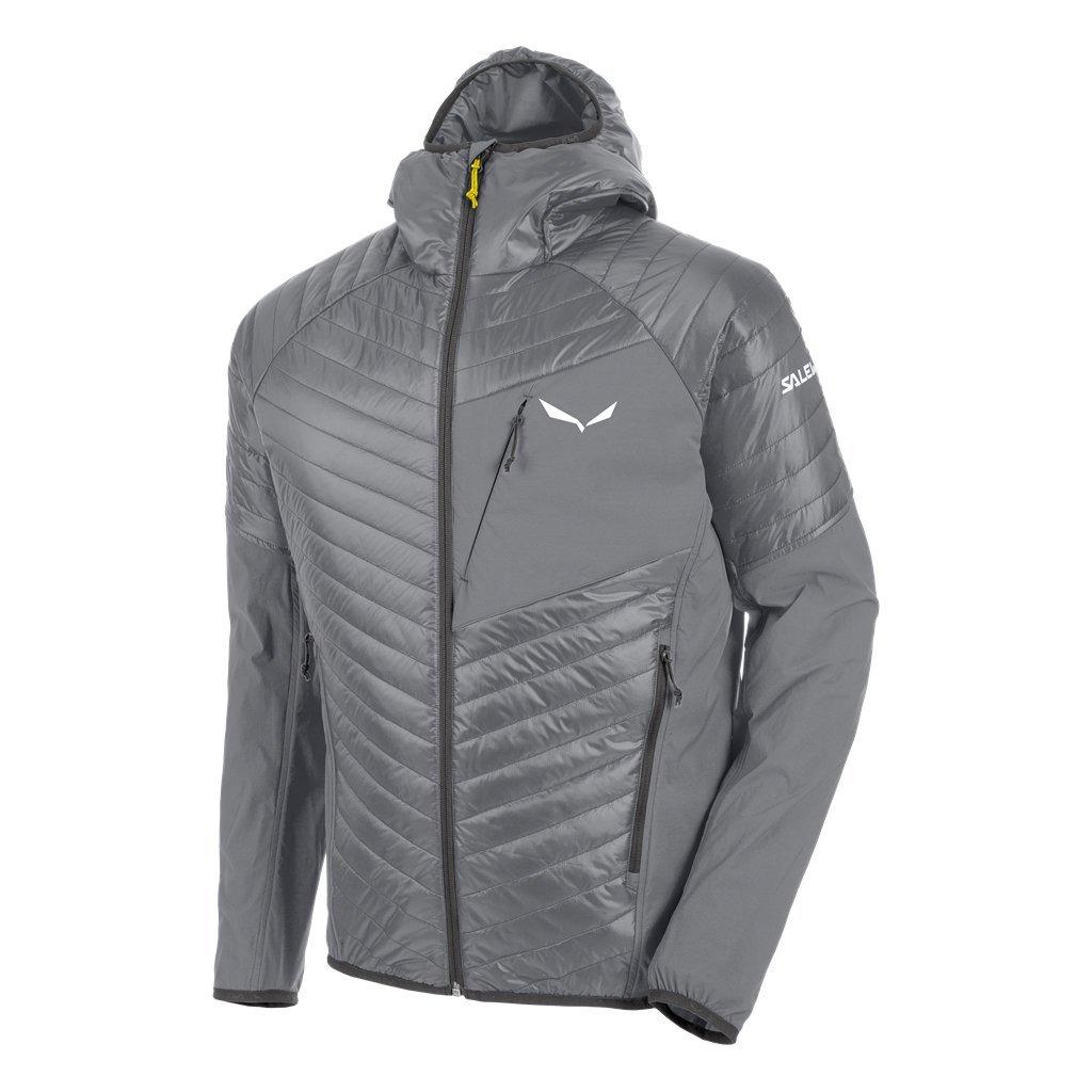 Salewa Ortlesハイブリッド2 Hooded Insulated Jacket – Men 's B075JH4K1H Medium|Quiet Shade/0730 Quiet Shade/0730 Medium