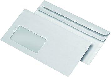 3000er Großpackung Briefumschläge Din Lang Mit Fenster