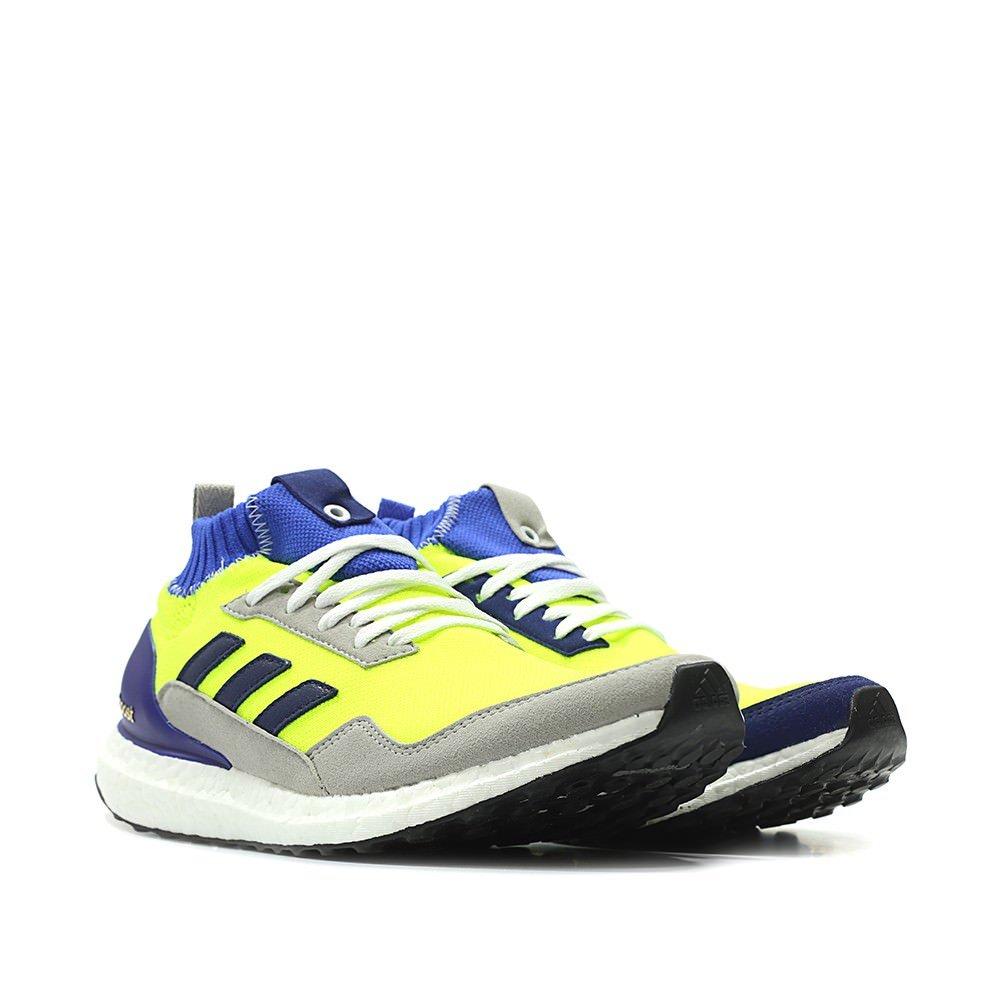 size 40 8e2d5 8a64d adidas Men Ultraboost Mid Proto (Yellow/Solar Yellow/hi-res Blue/White)