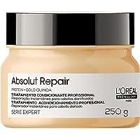 Máscara de Tratamento Reparadora Absolut Repair Gold Quinoa Serie Expert 250G, L´Oreal Professionnel Paris