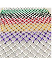 Anti-Fall Net Pet Child Protection Net Nylon Net 6mm*8cm Colored Rope Net Stairs Anti-Fall Net Fence Net Safety Protection Multi-Size and Multi-Color Rope Net(Size:2 * 8m (7 * 26ft))
