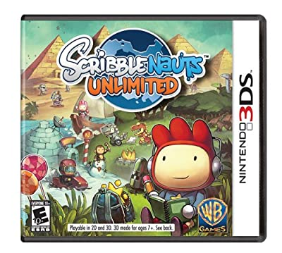 Scribblenauts Unlimited by Warner Home Video - Games