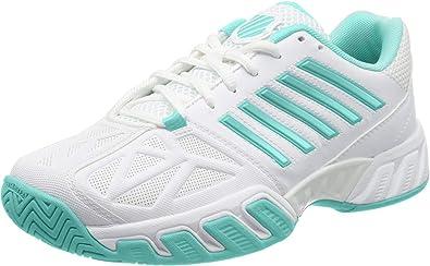 K-Swiss Performance Bigshot Light 3, Zapatos de Tenis para Mujer, Blanco, 36 EU: Amazon.es: Zapatos y complementos